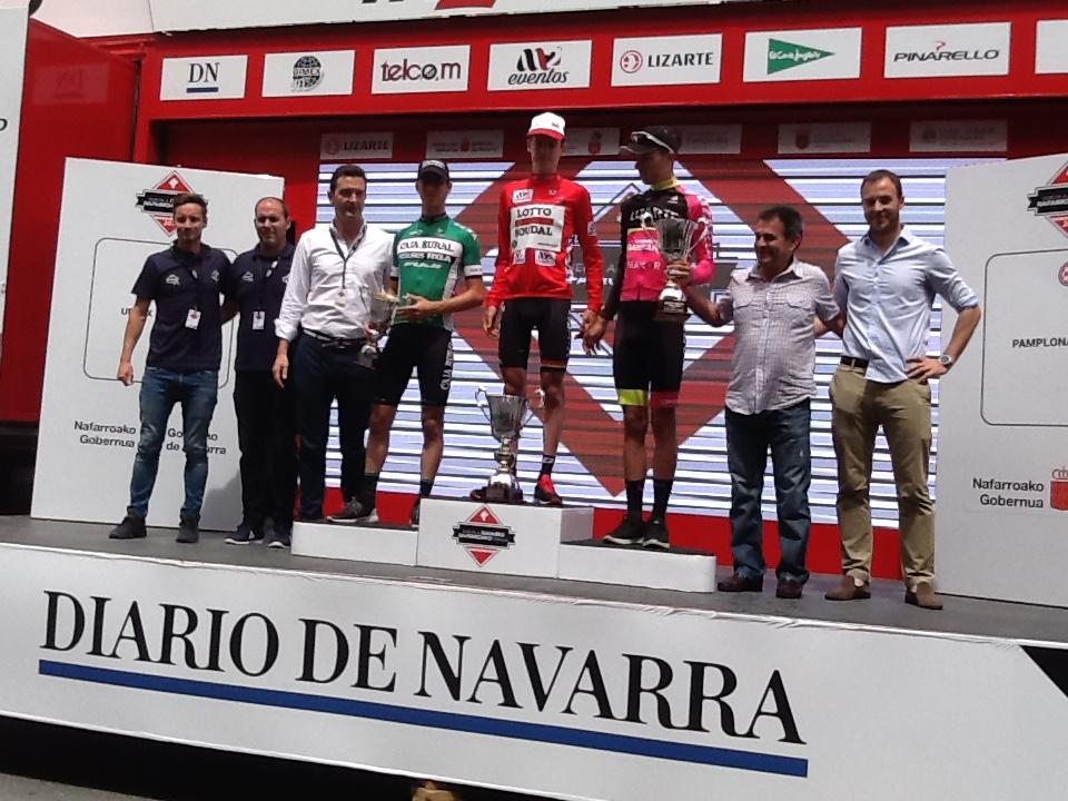 Vanhoucke (Lotto Soudal), ganador de la Vuelta Ciclista a Navarra 2017